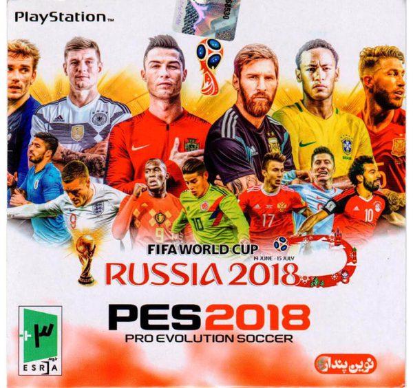بازی PES2018 ps1
