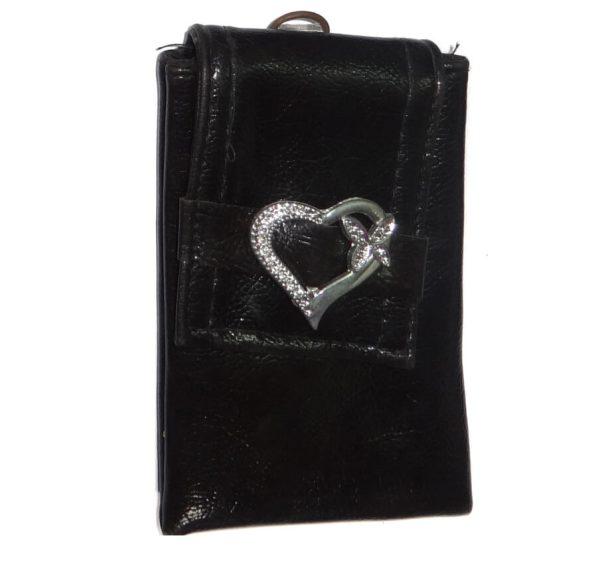 کیف گوشی طرح قلب